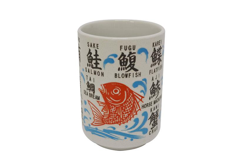 JAPANESE TEA CUP/SUSHI CUP, 4 CUPS, ITEM# AH-026, 日本茶杯4個