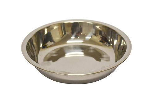 #800154 STAINLESS STEEL PLATE-18 CM 不銹鋼淺盤