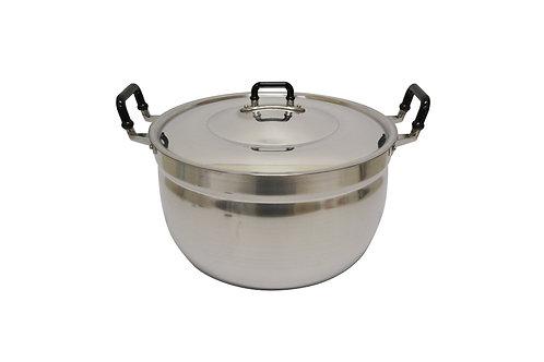 #800332 CROCODILE ALUMINUM COOKING POT-36 CM 鱷魚牌鋁製湯鍋