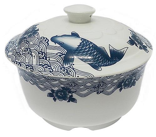 #802953 SOUP BOWL WITH LID-FISH 魚湯碗帶蓋