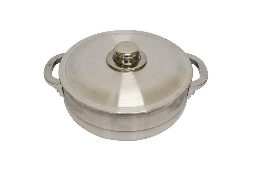 24CM ALUMINUM POT WITH LID  3 QT, ITEM# 800102, 鋁鍋帶蓋(1 PCS)