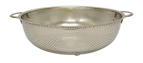 #800252 STAINLESS STEEL PUNCHING HOLE BASKET -31.5CM 不鏽鋼沖孔籃