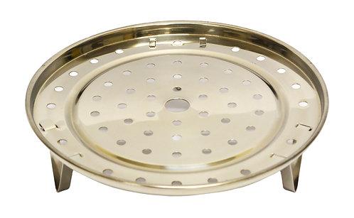 #801587 STAINLESS STEEL STEAM PLATE-24CM 不鏽鋼蒸盤