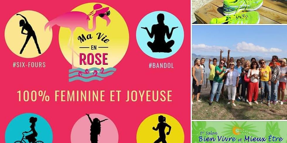 Ma Vie En Rose au 1er Salon Bien Vivre Mieux Etre les 25 et 26 Juillet au Parc Méditerranée