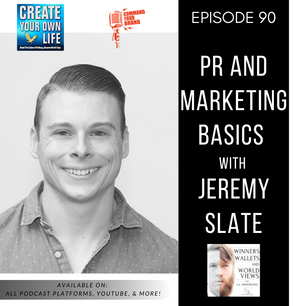 Episode 90- PR and Marketing Basics with Jeremy Slate