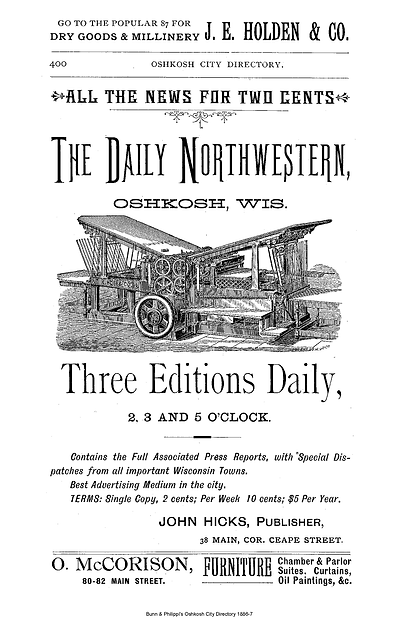 Oshkosh City Directory 1886.png