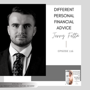 Episode 116- Different Personal Finance Advice