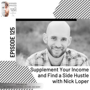 Episode 125- Supplement Your Income and Find a Side Hustle with Nick Loper