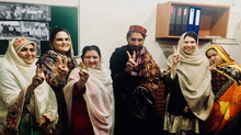 Women in Pakhtun Long March: Building Peace and Challenging Stereotypes