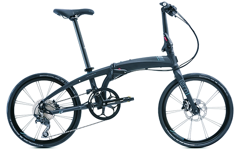 "Vélo pliant de performance VERGE P10, 20"" FOLDING BIKE 10 SPD BLACK/BLUE"