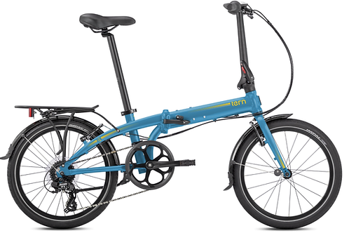 Vélo pliable LINK C8 MATTE BLUE TERN
