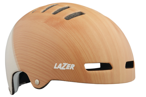 LAZER Unisex City Armor Casque matte wood white