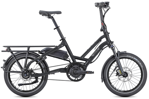 Vélo longtail électrique HSD S8I EU ACTIVE PLUS 400 08 SPD, MATTE BLACK/GREY