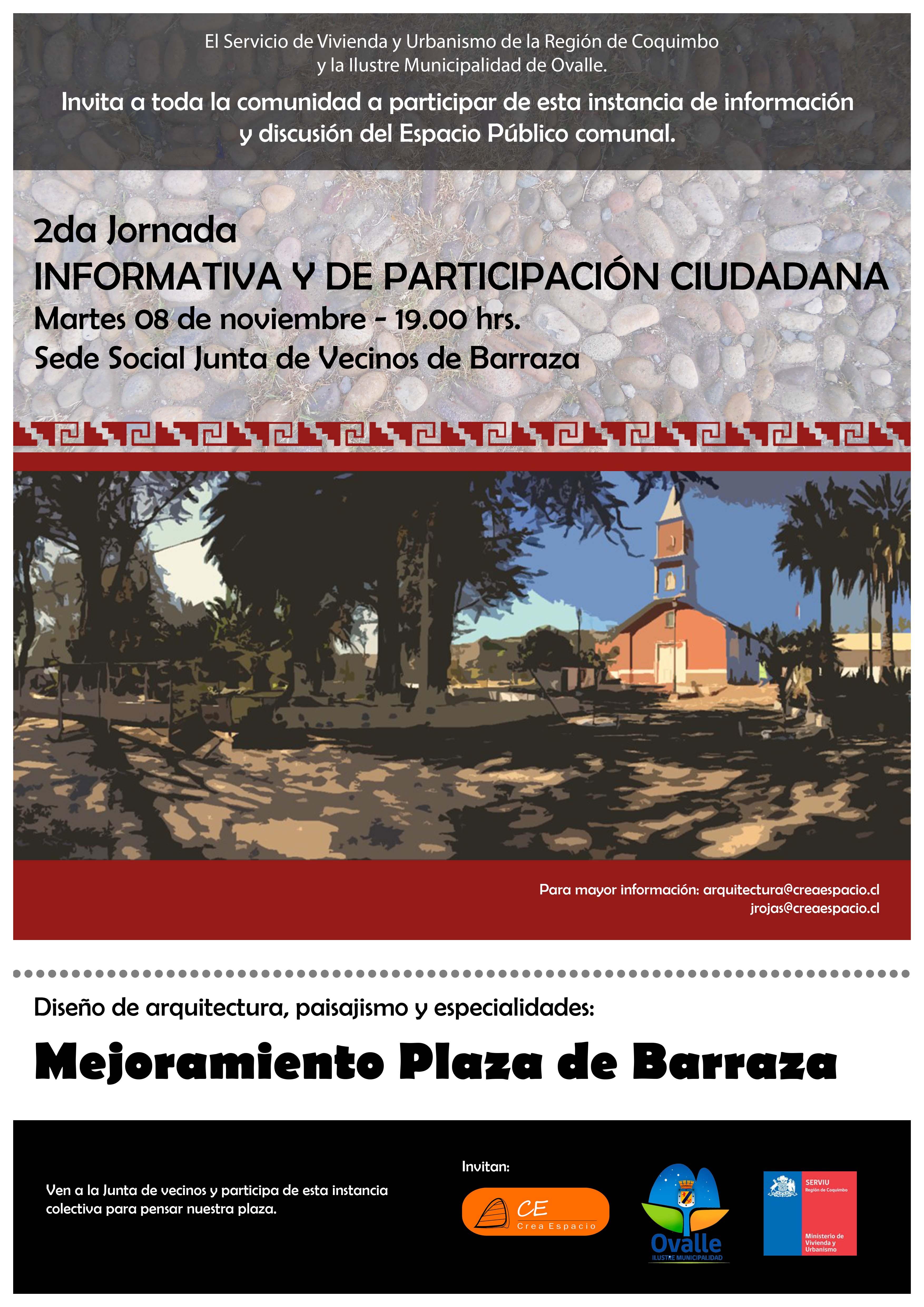 AFICHE 2DA PARTICIPACION BARRAZA