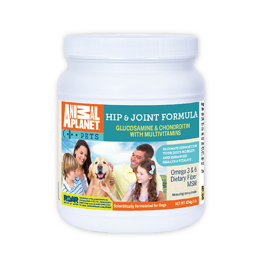 Animal Planet Hip and Joint Formula Dog Food Supplement with Glucosamine
