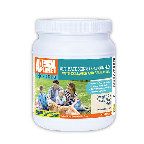 Animal Planet Ultimate Skin and Coat Dog Food Supplement with Glucosamine