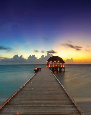 Arrival Pavilion at Sunset - OZEN by Atm