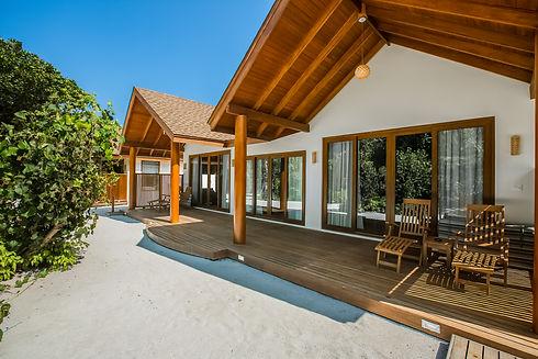 Deluxe Two Bedroom Beach Suite Exterior.