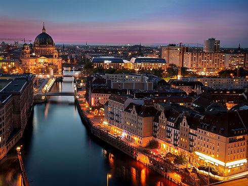 Berlin-Germany-night-city-lights-houses-