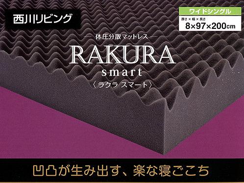 体圧分散マットレス RAKURAsmart<ラクラスマート> 圧縮梱包