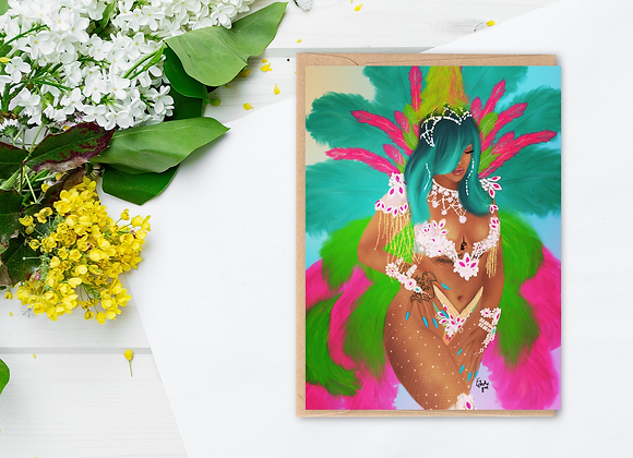 Aura | Greetings card