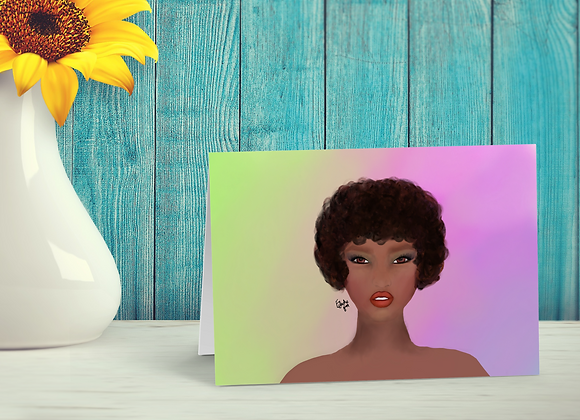 Carmel | Greetings card