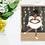 Thumbnail: Baby brown angel | Greetings card