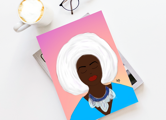 Wrap on point | Greetings card