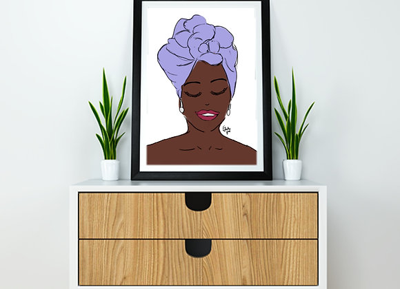 Lulu | wall art print |