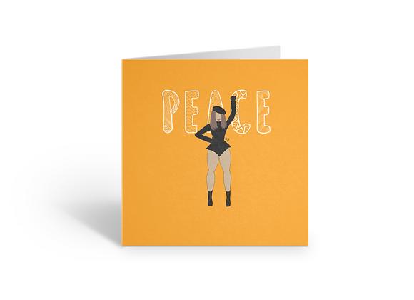 Peace (a) | Greetings card