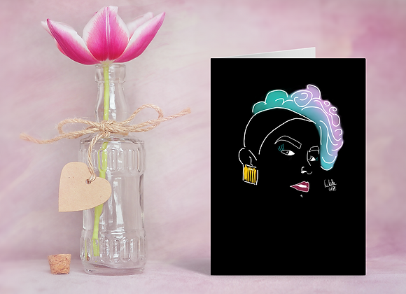 Neon | Greetings card