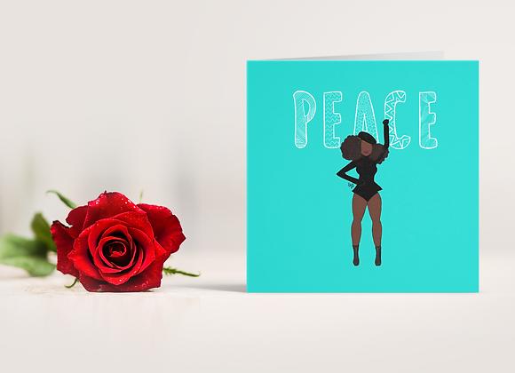 Peace (b) | Greetings card