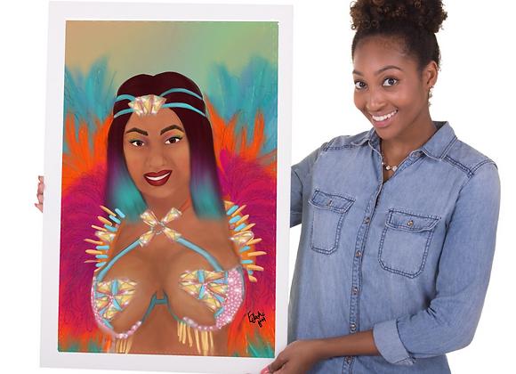 Craving Krave | wall art print | Carnival | various sizes