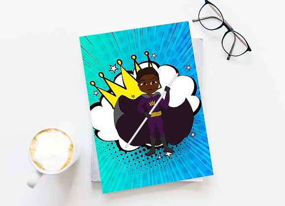 Young Royals - Issa | Greetings card