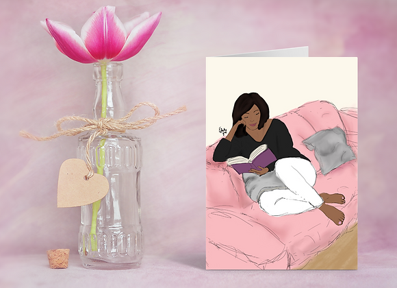 Me time | Greetings card