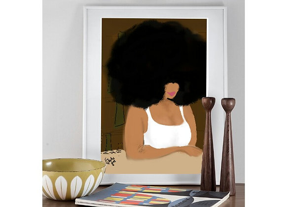 What Can I Get You?   wall art print   Portrait