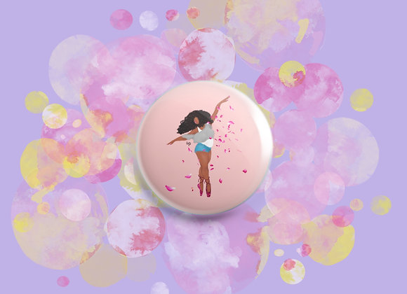 Eat, sleep, dance, repeat   badge   mirror   magnet