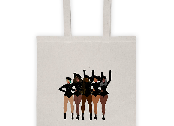 Stay woke |Natural 100% cotton Tote bag