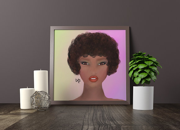 Carmel | wall art print | Portrait