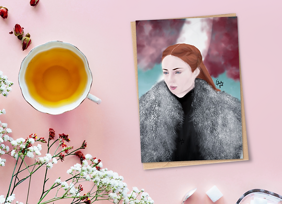 Sansa | Greetings card