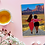 Thumbnail: On the town   Greetings card