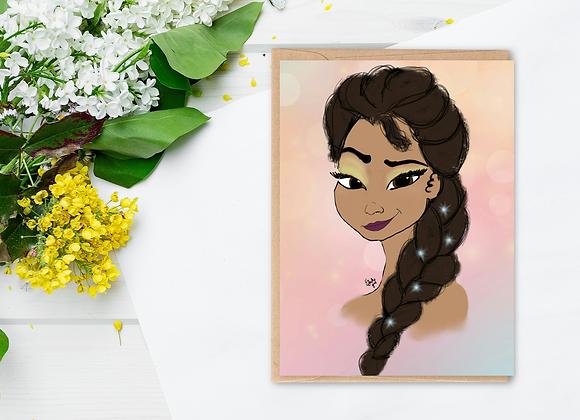 Elsa like you | Greetings card