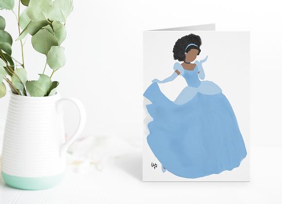 Cinderella like me | Greetings card