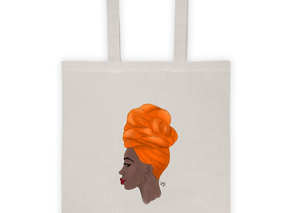 Wrap game be tight |Natural 100% cotton Tote bag