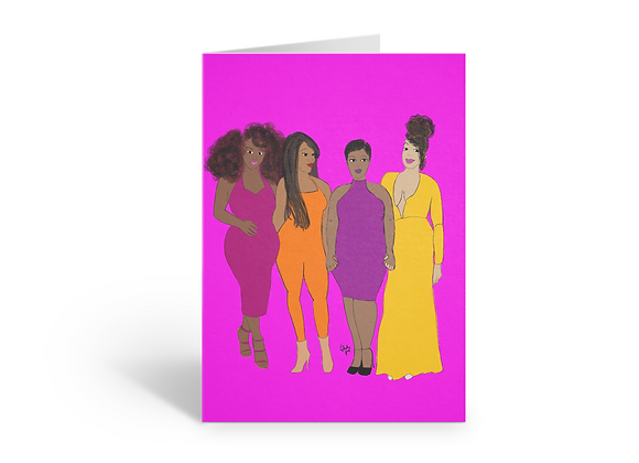 Squad Goals | Greetings card