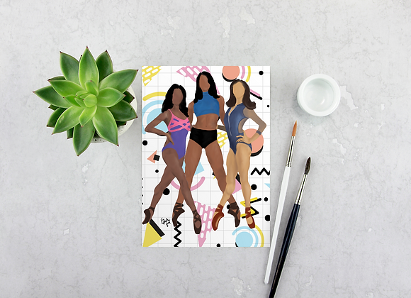 Beyond Role Models | Greetings card