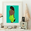 Thumbnail: Ms Green | wall art print | various sizes