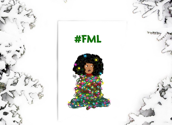 FML | Christmas | holiday season | Greetings card