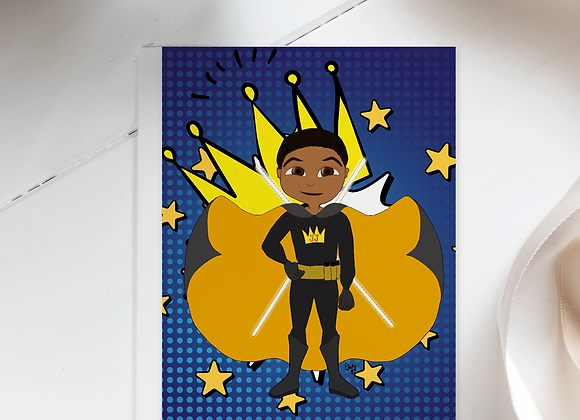 Young Royals - Jason Justice | Greetings card