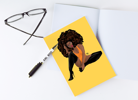Clementine | Greetings card